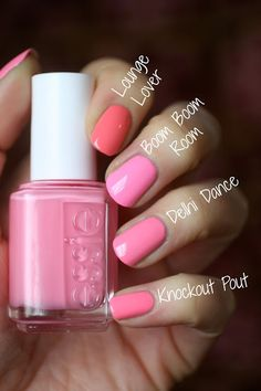 Essie Tart Deco Vs Essie Peach Side Babe Essie Envy Pinterest Tarts Summer And Deco