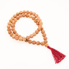 Attract good karma with this Karma Bracelet. Made with 27 authentic rudraksha beads. Improve your meditation with our japa. Get What You Give, You Got This, Karma Bracelet, Instant Karma, Elastic Thread, Hippie Style, Bead Crafts, Tassel Necklace, Bracelets