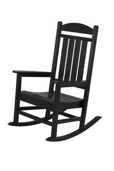 Green Plastic Patio Chairs Polywood Presidential Rocking Chair At Lowes Plastiek Meubels Pinterest
