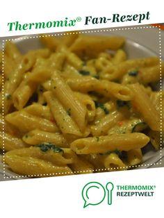 Bärlauch-Curry Nudelsoße (auch vegan möglich) von Missy Freckles. Ein Thermomix ® Rezept aus der Kategorie Saucen/Dips/Brotaufstriche auf www.rezeptwelt.de, der Thermomix ® Community.