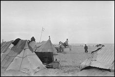 March Tents in an internment camp for Spanish refugees. (From the Mexican Suitcase)//Robert Capa Spanish Dancer, Magnum Photos, Camping, War, Pictures, Tents, Photography, Painting, Suitcase