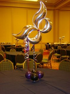 Mardi Gras mask centerpiece need centerpieces for your event in Atlanta? Www.atlantevents.biz