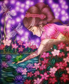 Finalizado! Sommarnatt. Hanna Karlson. Prismacolor Premier. #hannakarlson #sommarnatt #prismacolor #prismacolorpremier #coloring #coloringbook #artshelp #colorful #relax #creativity #art #artwork #arteterapia #antiestres #adultcoloringbook #lovecoloring