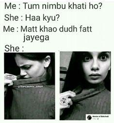 Sms Jokes, Funny Jokes In Hindi, Funny Jokes For Adults, Some Funny Jokes, Jokes For Kids, Jokes Quotes, Funny Quotes, Funny Baby Memes, Memes Funny Faces