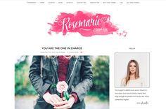 Rosemarie - Wordpress Theme Blog by LucaLogos on @creativemarket