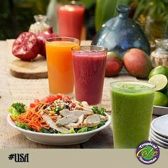 Just a sample of what our menu offers...here is a picture of our Island Green Smoothie which is one of our most popular requests. Tropical Smoothie Cafe USA - Google+