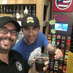 We're hanging out with @zacagran with @barrelofmonks taking about dubbels trippels and quads. Look for these dudes on our guest tap lineup for sure! #Coming2017 #LoveLakeland #Belgian #OldCountry #SoFlo #drinklocal