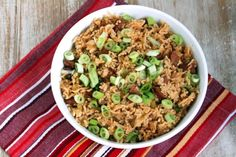 Dirty Rice--Homemade, not the Zatarans crap...made this over the weekend for an early Fat Tuesday dinner.  It was very, very good but also quite spicy.  If you aren't a big fan of spice, keep the cajun seasoning to 1T or less.  Will make again.
