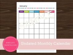 Great Screen monthly calendar portrait Ideas Is it possible to remember modern day date without searching for your phone? Somehow Monda. Road Trip Planner, Travel Planner, Printable Planner, Printables, Printable Calendars, 12 Month Calendar, Be Yourself Quotes, Trip Planning, 12 Months