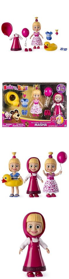 Dolls And Bears: Masha And The Bear - Snap €˜N Fashion 1 - Masha Doll -> BUY IT NOW ONLY: $14.59 on eBay!