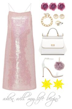 """""""Disney Dameisele: RAPUNZEL"""" by angeli-cn ❤ liked on Polyvore featuring Adam Selman, Zara, Dolce&Gabbana, Givenchy, Charlotte Russe and Gucci"""