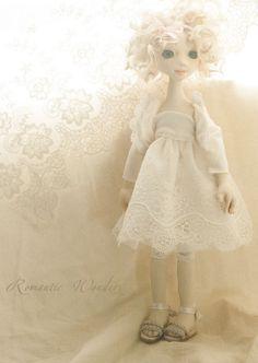 Iliana, art doll, ooak (rwdolls.com) Olympus, Art Dolls, Digital Camera, Elsa, Doll Clothes, Flower Girl Dresses, Textiles, Romantic, My Favorite Things