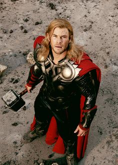 Thor. I may have pinned this already but I don't care. He's so gorgeous.