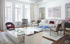 donny deutsch's nyc townhouse.  tony ingrao and randy kemper.  architectural digest.
