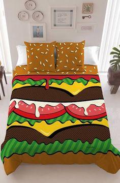 Le lit Hamburger