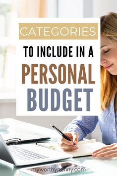 If you are new to budgeting then you might be wondering what are the categories that you should include in your monthly budget. Here are the categories for a personal budget that you should have in your budgeting worksheet. Budgeting for beginners. Budgeting System, Budgeting Finances, Budgeting Tips, Budget App, Best Budget, Apps For Couples, Dave Ramsey Quotes, Dave Ramsey Envelope System, Envelope Budget