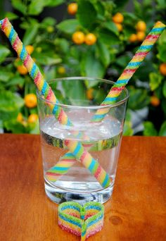 DIY Airheads candy straws!!! So cool!   Jac o' lyn Murphy: Love is in the Air(heads)