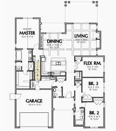 Craftsman Home with Flex Room - 69538AM | 1st Floor Master Suite, Bonus Room, Butler Walk-in Pantry, CAD Available, Craftsman, Den-Office-Library-Study, Northwest, PDF, Split Bedrooms | Architectural Designs