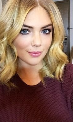 Kate Upton Cuts Her Hair a Few Inches Shorter, Embraces the Lob Trend?See the Pic!