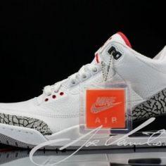 "Air Jordan 3 Retro '88 ""White / Cement"" (Release Info) (6)"
