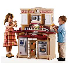 Step2 Lifestyle Custom Kitchen Ii Cosco Stool Little Tikes - Imaginesounds Interactive Playhouse ...