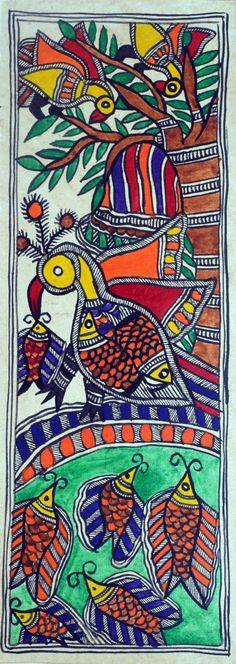 https://www.etsy.com/listing/195009494/indian-folk-art-madhubani-mithila?ref=sr_gallery_22