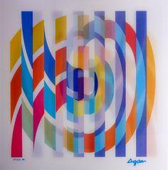 Agamograph firmado y numerado 27/27 H.C. por el artista. Referencia: agam_013