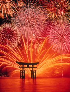 Flickr. Miyajima Tori. Nd to go when there are fireworks next. Beautiful !