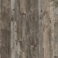 Union Rustic Penwell Wood Stone Brick L x W Wallpaper Roll Color: Light Gray Wood Effect Wallpaper, Embossed Wallpaper, Brick Wallpaper, Wallpaper Panels, Wallpaper Roll, Feature Wallpaper, Wallpaper Direct, Grey Wallpaper, Wallpaper Online