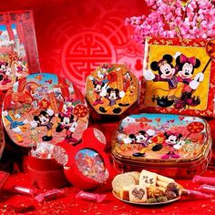 Impress your family and friends with 香港迪士尼樂園   Hong Kong Disneyland CNY gift boxes~ #allabouthongkong