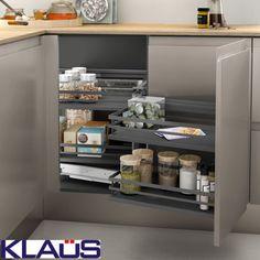 Cuisine - cuisine sur mesure tiroir - rangement cuisine pratique - KLAUS