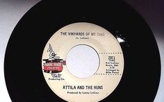 ATTILA AND THE HUNS - The Vineyards Of My Time (Chicago Garage 45) Magic Touch #PsychedelicRockSoulfulGarageRock