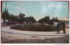 BUCURESTI -  Soseaua KISELEFF -  Rondul cu flori - 1910 Bucharest Romania, Memories, Country, Beach, Water, Outdoor, Vintage, Beautiful, Gripe Water
