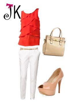 Basico pantalon blanco