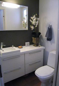 minor bathroom remodel is utterly important for your home. Whether you pick the bathroom remodeling or remodeling bathroom ideas diy, you will create the best bathroom renovations for your own life. Diy Bathroom Remodel, Bathroom Renovations, Bathroom Ideas, Small Bathroom Storage, Amazing Bathrooms, Luxurious Bathrooms, Double Vanity, My Dream Home, Sweet Home