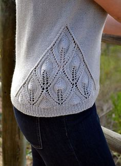 Distant Lights Top pattern by Irina Anikeeva