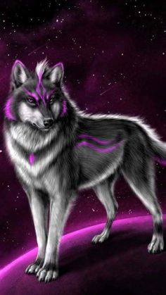 Wolf Wallpaper, Animal Wallpaper, Images Roi Lion, Galaxy Wolf, Lion King Drawings, Shadow Wolf, Wolf Artwork, Wolf Painting, Tribal Warrior