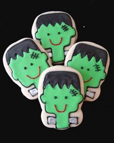 Frankenstein Cookies Recipes