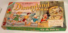 Vintage Disneyland board game. This is neat!