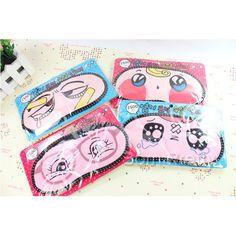 $ 2,85 1pc Netter Karikatur eyeshade Schlaf-Beihilfen Maske Abdeckleuchte Blindfold (zufällige Farbe) - BornPrettyStore.com