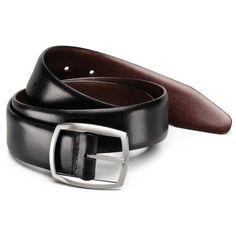 "Delaware Reversible Belt  Check it. A reversible belt that doesn't scream, ""CHEAP!"""