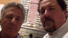 Dustin Hoffman and Jon Favreau