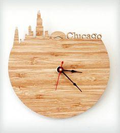 Chicago Modern Wall Clock