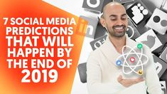 7 social media predictions that will happen by the end of 2019 – Business Loans and Ideas Content Marketing, Online Marketing, Social Media Marketing, Digital Marketing, Social Web, Social Networks, Youtube Live, Social Media Video, Business Checks