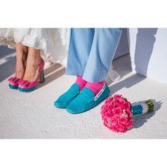 インスタで見る海外のリアル花嫁*ハッシュタグは【#サントリーニ島wedding】♡にて紹介している画像