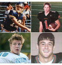 Throwback to HS years. Brady, Jillian, Gronk, & Danny!
