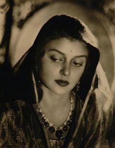My Bohemian History  What a beauty!  vintageindia:    Maharani Gayatri Devi