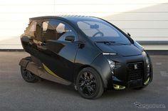 PSA プジョーシトロエン、VeLV 発表…都市型三輪コンパクトEVの提案
