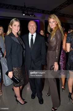 aerin-lauder-michael-kors-and-constance-jablonski-attend-the-10th-picture-id615368002 (680×1024) Aerin Lauder, Michael Kors, 10 Picture, Evening Outfits, High Society, Style Icons, Sequin Skirt, Hair Color, Take That