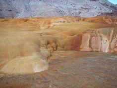 Crystal Geyser near Green River, Utah -- cold water (CO2) geyser